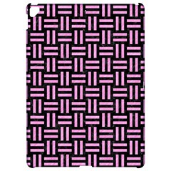 Woven1 Black Marble & Pink Colored Pencil (r) Apple Ipad Pro 12 9   Hardshell Case