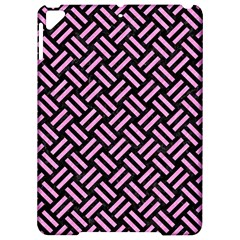 Woven2 Black Marble & Pink Colored Pencil (r) Apple Ipad Pro 9 7   Hardshell Case by trendistuff