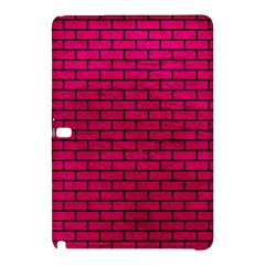 Brick1 Black Marble & Pink Leather Samsung Galaxy Tab Pro 12 2 Hardshell Case by trendistuff