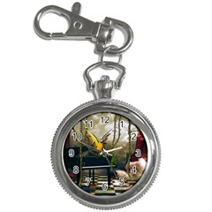 Funny Parrots In A Fantasy World Key Chain Watches by FantasyWorld7