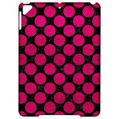 Circles2 Black Marble & Pink Leather (r) Apple Ipad Pro 9 7   Hardshell Case by trendistuff