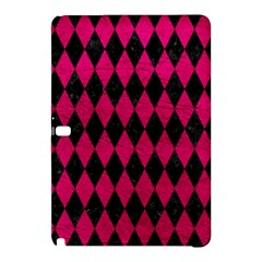 Diamond1 Black Marble & Pink Leather Samsung Galaxy Tab Pro 12 2 Hardshell Case by trendistuff
