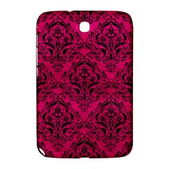 Damask1 Black Marble & Pink Leather Samsung Galaxy Note 8 0 N5100 Hardshell Case  by trendistuff