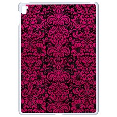 Damask2 Black Marble & Pink Leather (r) Apple Ipad Pro 9 7   White Seamless Case by trendistuff