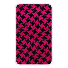 Houndstooth2 Black Marble & Pink Leather Memory Card Reader by trendistuff