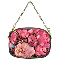 Beautiful Peonies Chain Purses (two Sides)  by 8fugoso