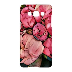 Beautiful Peonies Samsung Galaxy A5 Hardshell Case  by 8fugoso