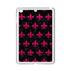 Royal1 Black Marble & Pink Leather Ipad Mini 2 Enamel Coated Cases by trendistuff
