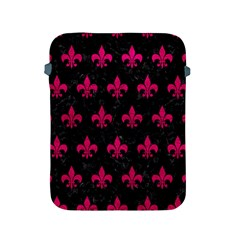 Royal1 Black Marble & Pink Leather Apple Ipad 2/3/4 Protective Soft Cases by trendistuff