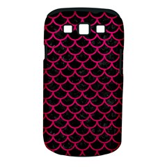 Scales1 Black Marble & Pink Leather (r) Samsung Galaxy S Iii Classic Hardshell Case (pc+silicone) by trendistuff