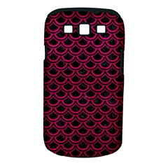 Scales2 Black Marble & Pink Leather (r) Samsung Galaxy S Iii Classic Hardshell Case (pc+silicone) by trendistuff