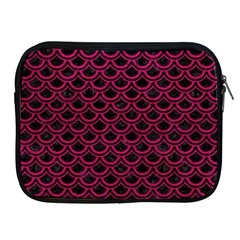 Scales2 Black Marble & Pink Leather (r) Apple Ipad 2/3/4 Zipper Cases by trendistuff