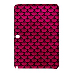 Scales3 Black Marble & Pink Leather Samsung Galaxy Tab Pro 12 2 Hardshell Case by trendistuff