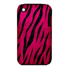 Skin3 Black Marble & Pink Leather Iphone 3s/3gs by trendistuff