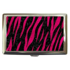 Skin3 Black Marble & Pink Leather (r) Cigarette Money Cases by trendistuff