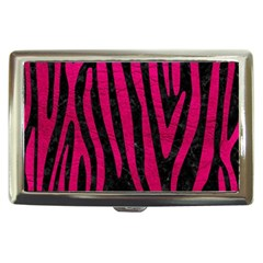 Skin4 Black Marble & Pink Leather Cigarette Money Cases by trendistuff