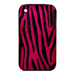 Skin4 Black Marble & Pink Leather (r) Iphone 3s/3gs by trendistuff