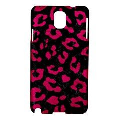 Skin5 Black Marble & Pink Leather Samsung Galaxy Note 3 N9005 Hardshell Case by trendistuff