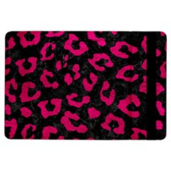 Skin5 Black Marble & Pink Leather Ipad Air Flip by trendistuff
