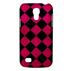 Square2 Black Marble & Pink Leather Galaxy S4 Mini by trendistuff