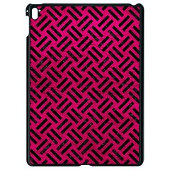Woven2 Black Marble & Pink Leather Apple Ipad Pro 9 7   Black Seamless Case by trendistuff