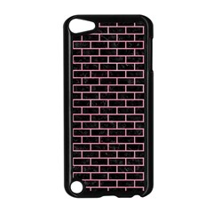 Brick1 Black Marble & Pink Watercolor (r) Apple Ipod Touch 5 Case (black) by trendistuff