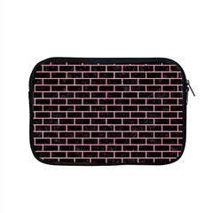 Brick1 Black Marble & Pink Watercolor (r) Apple Macbook Pro 15  Zipper Case by trendistuff
