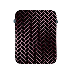 Brick2 Black Marble & Pink Watercolor (r) Apple Ipad 2/3/4 Protective Soft Cases by trendistuff