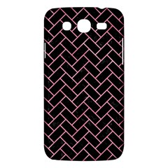 Brick2 Black Marble & Pink Watercolor (r) Samsung Galaxy Mega 5 8 I9152 Hardshell Case  by trendistuff