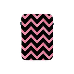 Chevron9 Black Marble & Pink Watercolor (r) Apple Ipad Mini Protective Soft Cases by trendistuff