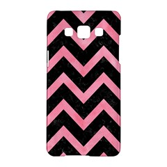 Chevron9 Black Marble & Pink Watercolor (r) Samsung Galaxy A5 Hardshell Case  by trendistuff