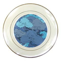 Abstract Nature 1 Porcelain Plates by tarastyle