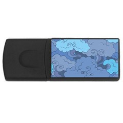 Abstract Nature 1 Rectangular Usb Flash Drive by tarastyle