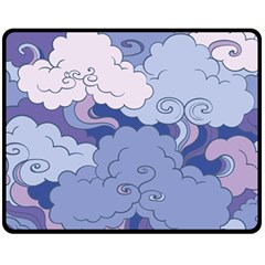 Abstract Nature 3 Fleece Blanket (medium)  by tarastyle