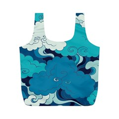 Abstract Nature 4 Full Print Recycle Bags (m)  by tarastyle