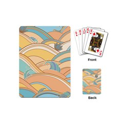 Abstract Nature 5 Playing Cards (mini)  by tarastyle