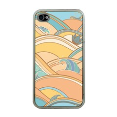 Abstract Nature 5 Apple Iphone 4 Case (clear)