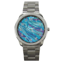 Abstract Nature 6 Sport Metal Watch