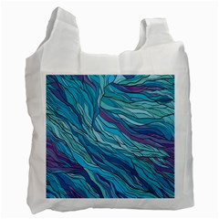 Abstract Nature 6 Recycle Bag (one Side)