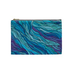 Abstract Nature 6 Cosmetic Bag (medium)
