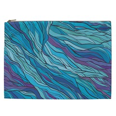 Abstract Nature 6 Cosmetic Bag (xxl)  by tarastyle