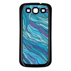 Abstract Nature 6 Samsung Galaxy S3 Back Case (black)