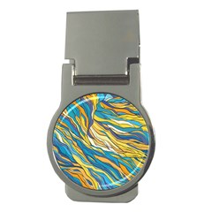 Abstract Nature 7 Money Clips (round)