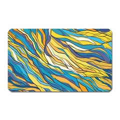 Abstract Nature 7 Magnet (rectangular)