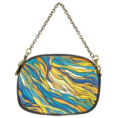 Abstract Nature 7 Chain Purses (one Side)