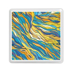 Abstract Nature 7 Memory Card Reader (square)  by tarastyle