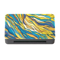 Abstract Nature 7 Memory Card Reader With Cf