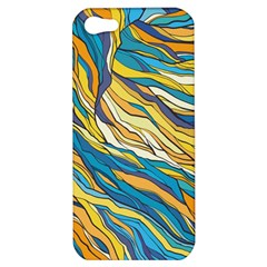 Abstract Nature 7 Apple Iphone 5 Hardshell Case by tarastyle