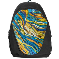 Abstract Nature 7 Backpack Bag