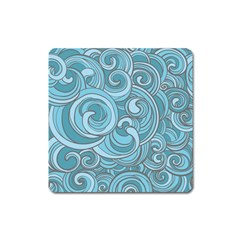 Abstract Nature 8 Square Magnet by tarastyle